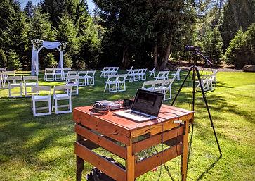 Livestreaming Wedding Ceremony in Seattl