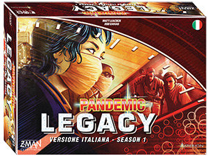 PANDEMIC LEGACY Season 1 (Blu)