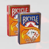 CARTE BICYCLE SEMPRE SEI CARTE six card repeat