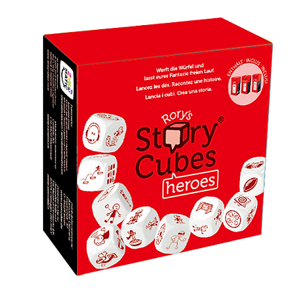 STORY CUBES Heroes (rosso)