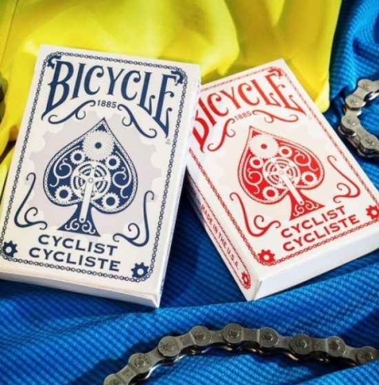 CARTE BICYCLE CYCLIST: