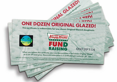 Homeschool band fundraiser, Community band, Krispy Kreme