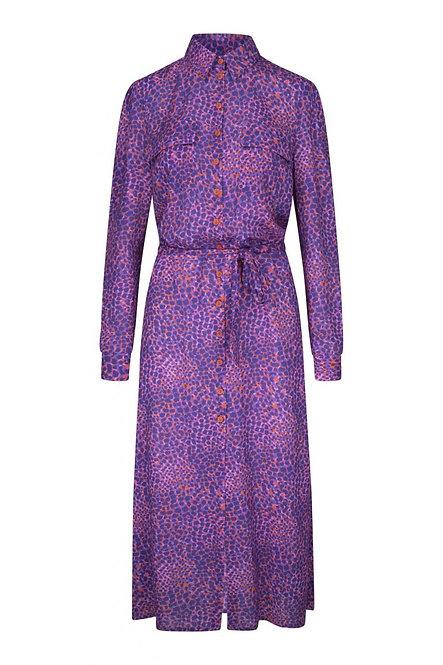 JANICE GEORGE LEOPARD DRESS