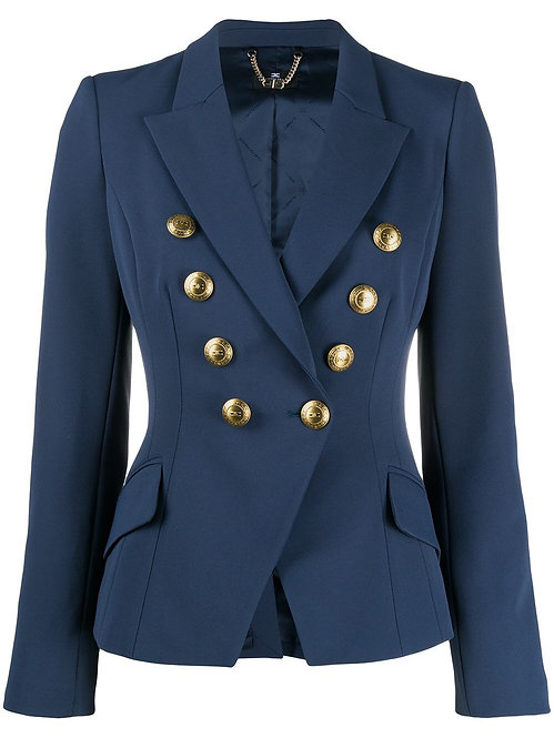 ELISABETTA FRANCHI SHORT JACKET WITH BUTTONS