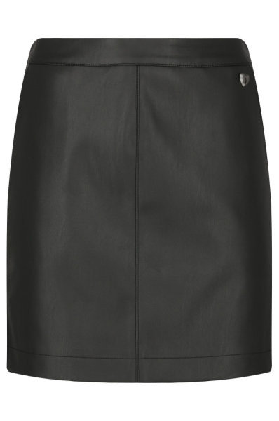 TWIN SET FAUX LEATHER SKIRT