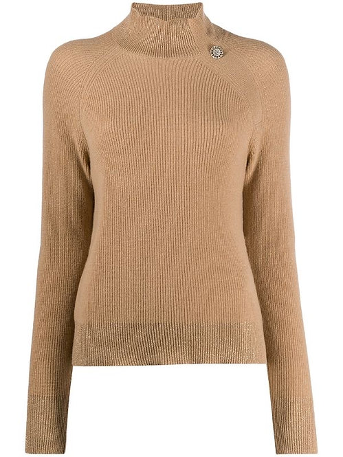 LIU JO HIGH NECK KNIT SWEATER