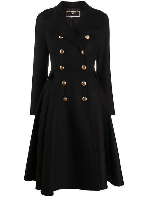 ELISABETTA FRANCHI DOUBLE BREASTED COAT