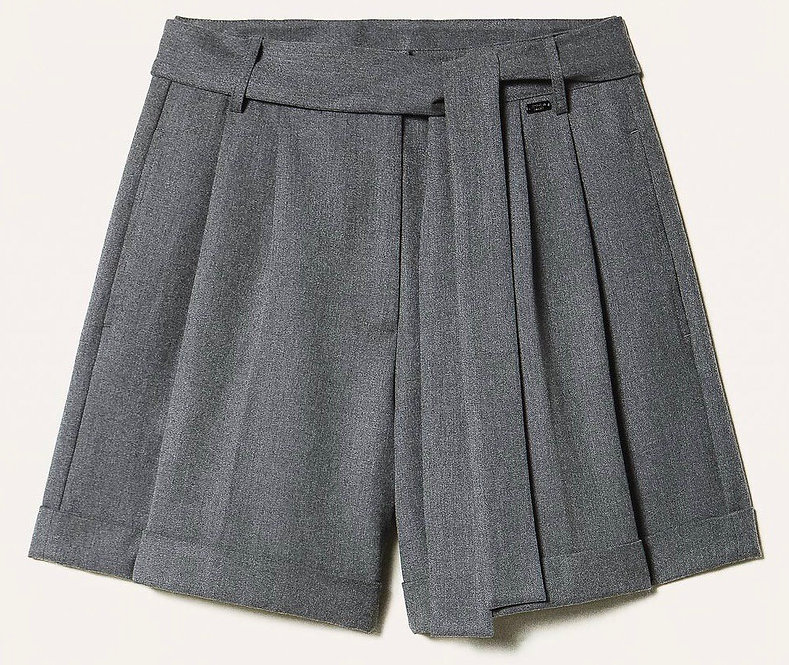 TWIN SET SHORTS WITH BELT