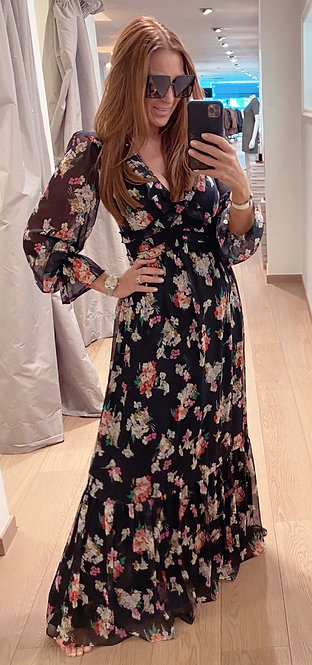 LIU JO LONG FLOWER DRESS