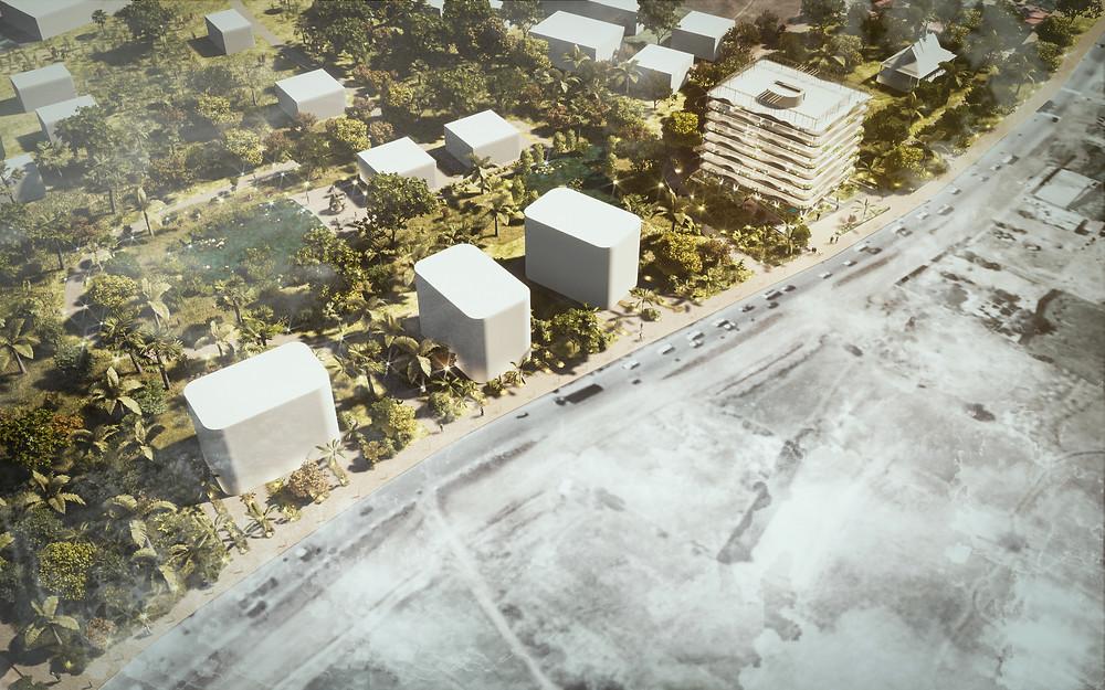 Concept design Oudong Masterplan, in Cambodia