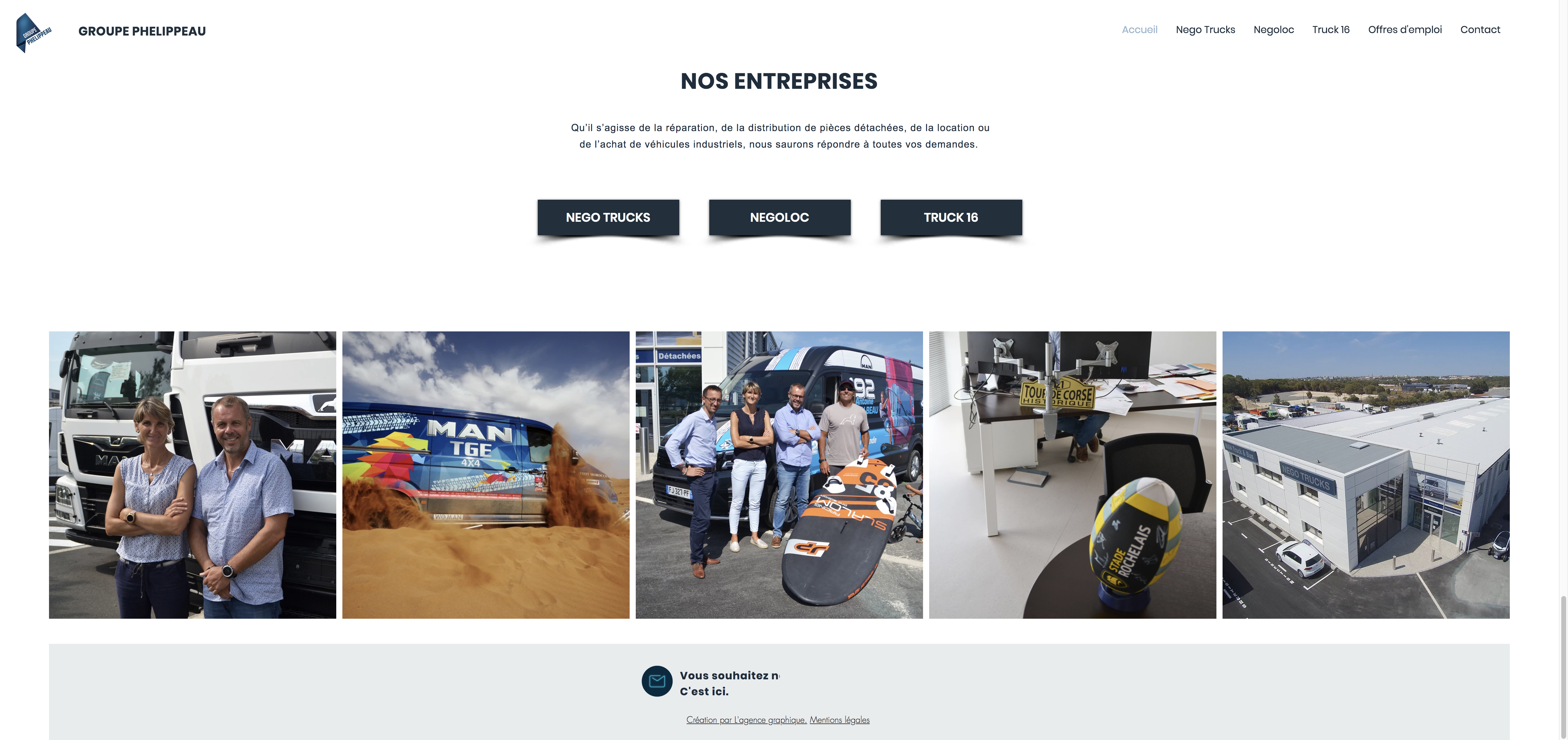 Site Groupe Phelippeau accueil 3