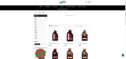 Site Sodilub Lubrifiants page produits