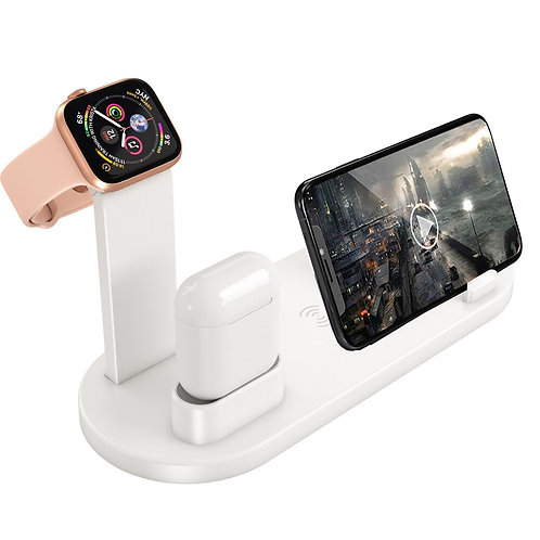 4 in 1 Wireless Charging Dock Station Mobile Phone Charger