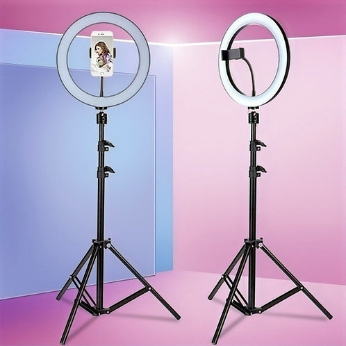 6.3''/10.2'' Camera Studio Ring Light With Stand