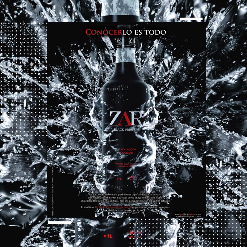 Lanzamiento  Zar Black Vodka