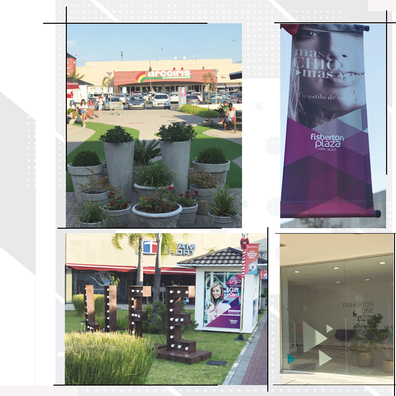 Diseño corporativo centro comercial