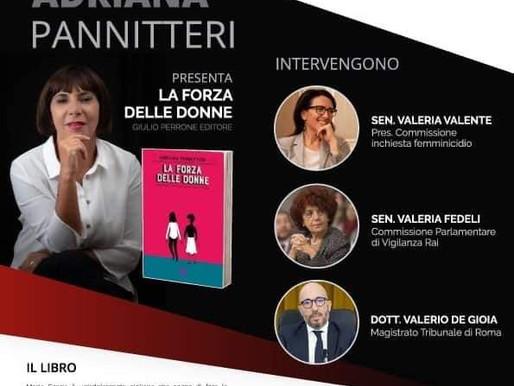 DIRETTE. Adriana Pannitteri in diretta sul canale web del SenatoTV