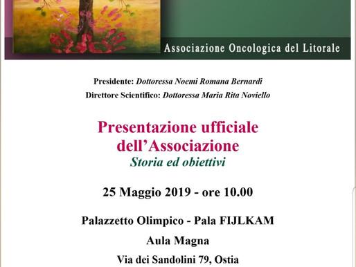 GRANDI EVENTI: presentazione ufficiale dell'Associazione per 'curare oltre la cura'