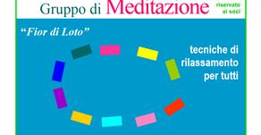"""LA CURA OLTRE LA CURA. MEDITAZIONE. """"Fior di Loto"""" Gruppo di Meditazione per tutti"""