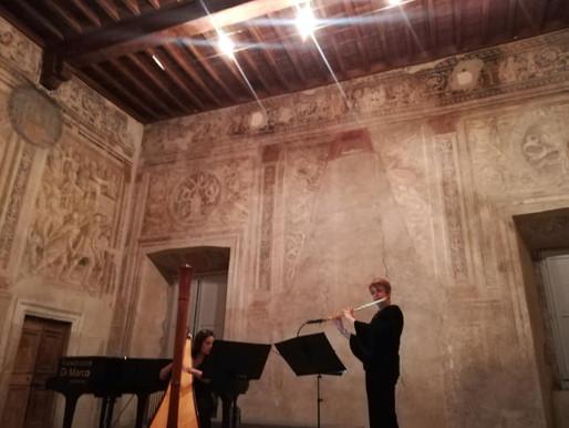 """LA CURA OLTRE LA CURA. Concerto di Natale: """"Natale di Luce"""" nella istoriata Sala Riario"""