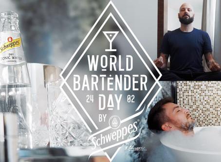 WORLD BARTENDER DAY: MIT SCHWEPPES IN DEN URLAUB!