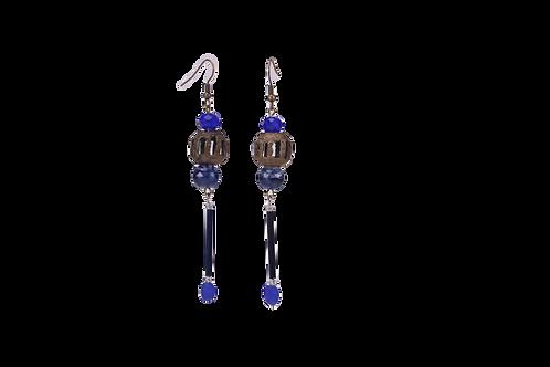 Brass African Earrings