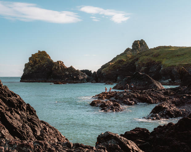 Summer at Kynance Cove