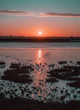 Sunset on the Adur