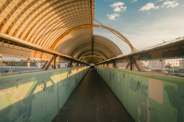 Hove Station Footbridge