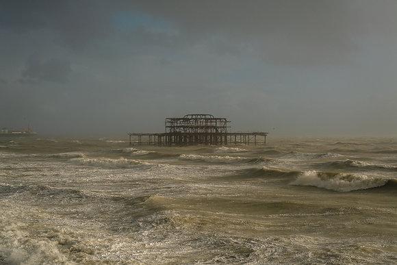 West Pier Storm