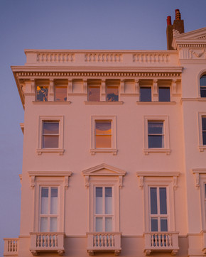 Blue Hour at Adelaide Crescent
