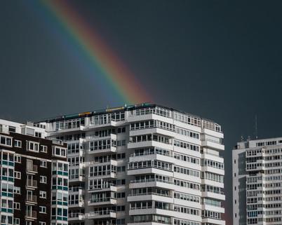 Rainbow Over Holiday Inn