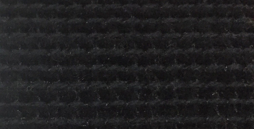 Black Textured Fabric - Solid Black Fabric