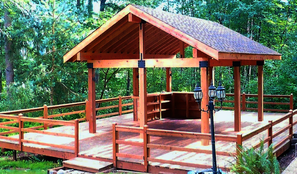 Custom Outdoor Structure