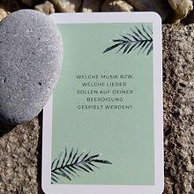 Kartenspiel Tod oder Leben Endlichkeitsbotschafterin