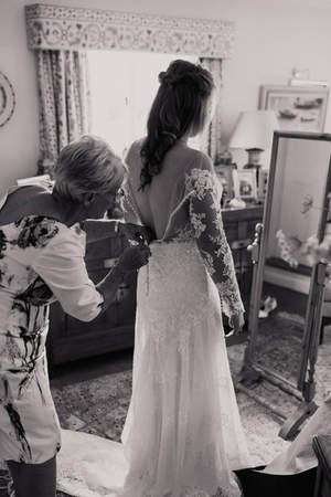 Tipi Garden Wedding Preparations