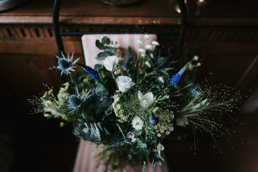 Tipi Garden Wedding bouquet