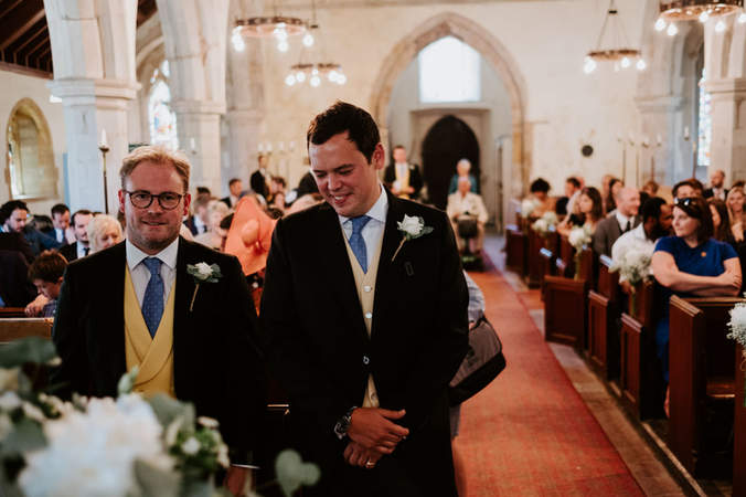 St Peters Church Ceremony