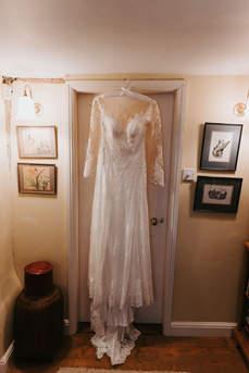 Wedding Dress Details - Tipi Wedding