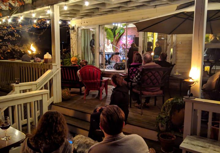 House Concert at Jim & Kathy Yoder's.