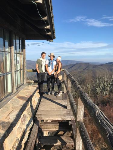 Hiking the High Knob!