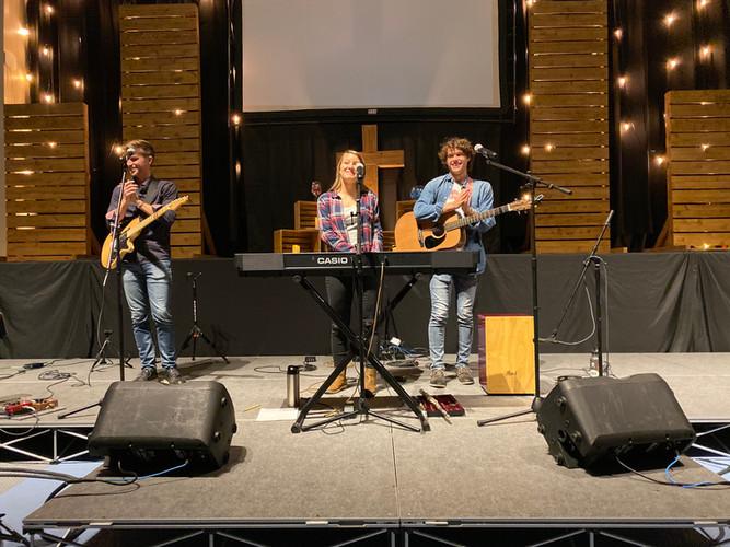 Concert at Bethel Church, Charlotte.