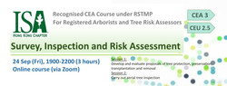 Recognised CEA Course under RSTMP - Survey, Inspection and Risk Assessment on Sep 24 (Fri), 1900-220