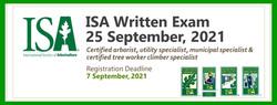 ISA Written Exam, 25 September