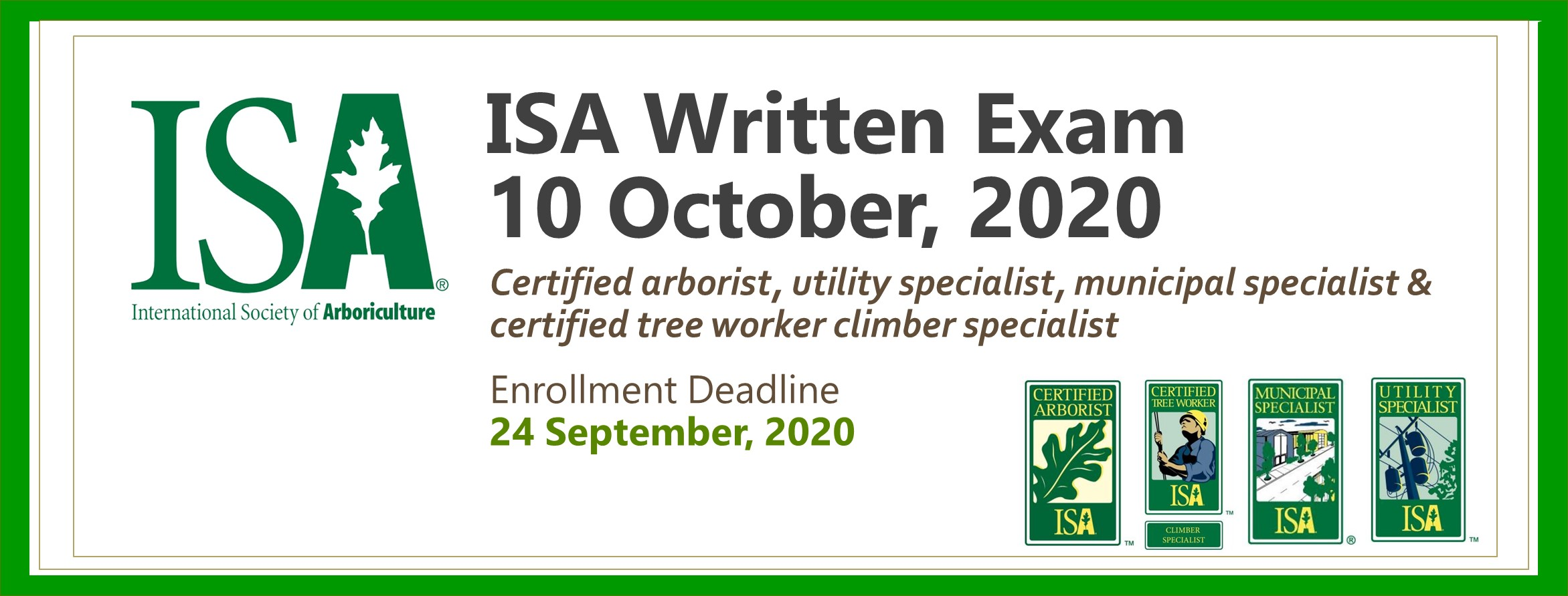 Written Exam 10 October 2020