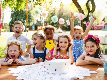How to throw a zero waste kid's party.