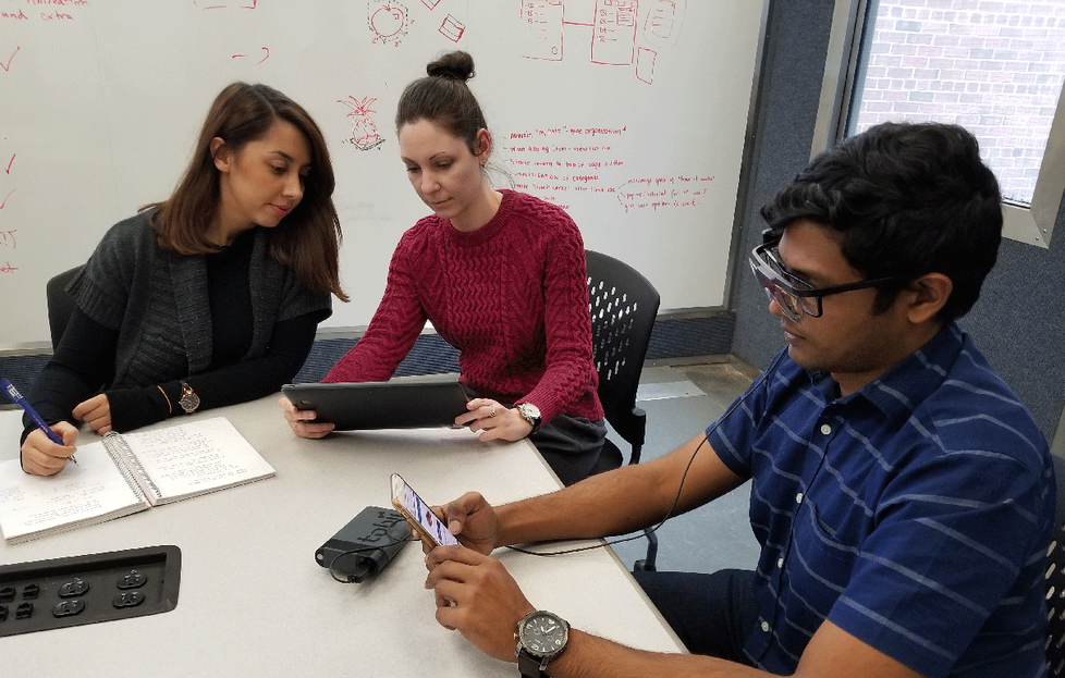 Moderated Usability Testing Session for Mobile Using Eyetracking Wearable