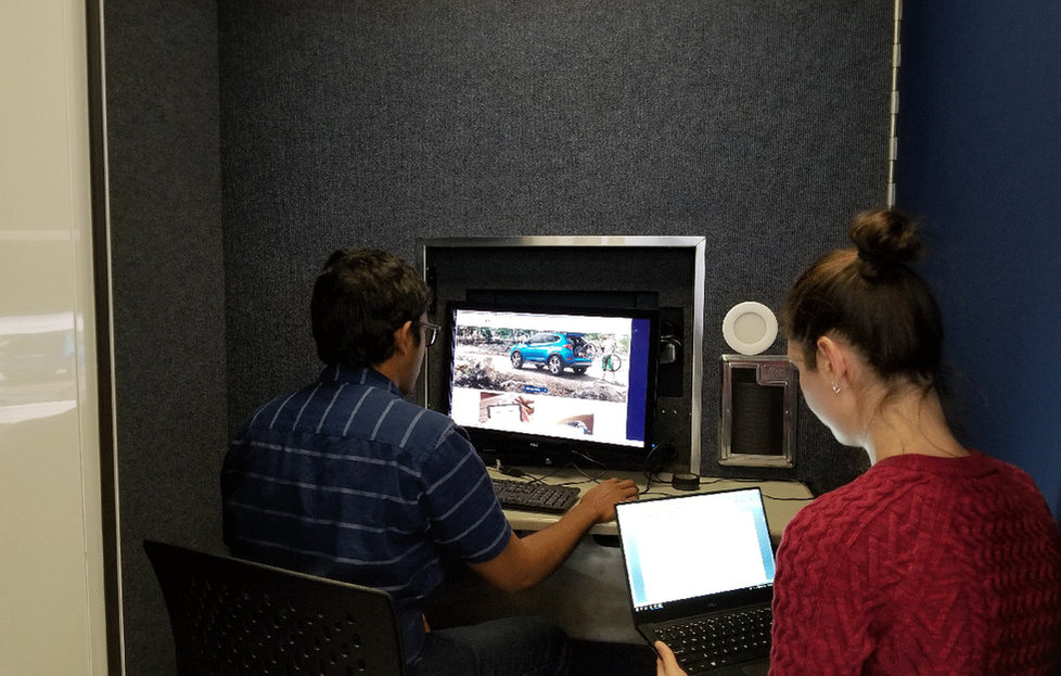 Moderated Usability Testing Session for Desktop Using Eyetracking Technology