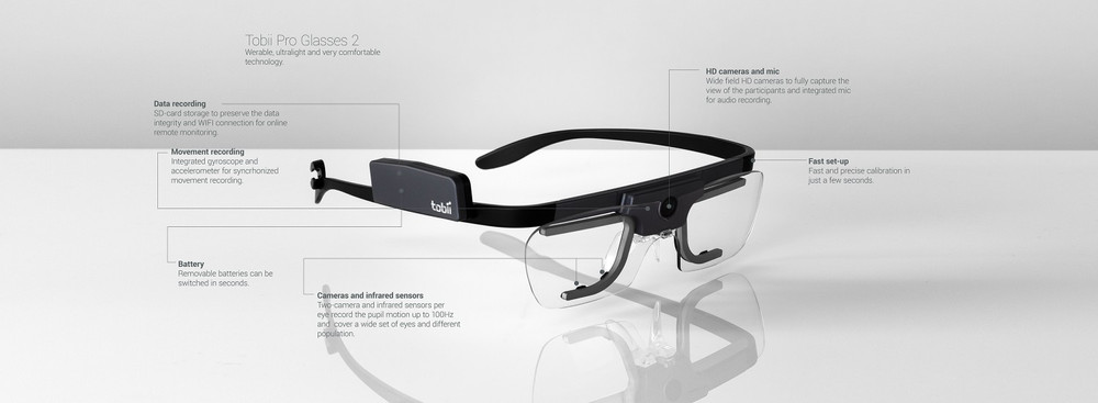 TobiiPro Wearable Eyetracker for Mobile