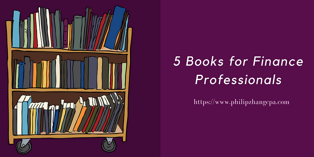 5 Books for Finance Professionals